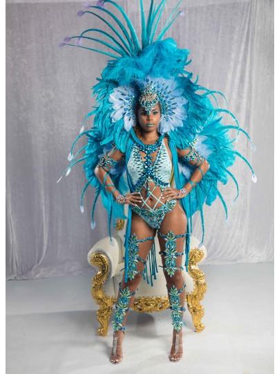 Sapphire Seduction  Female Premium Costume