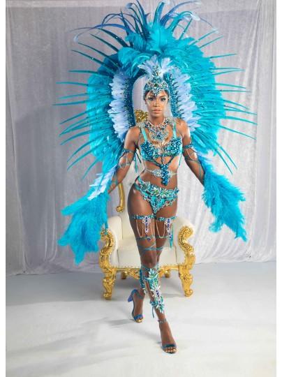 Sapphire Seduction -    Female   Platinum Costume