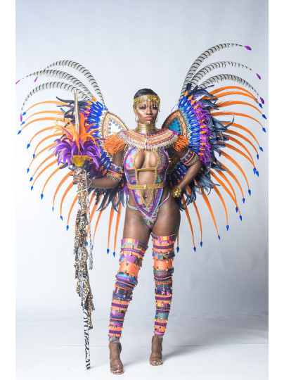 Nubian Kingdom (Minka - Ashanti one piece) Platinum Costume