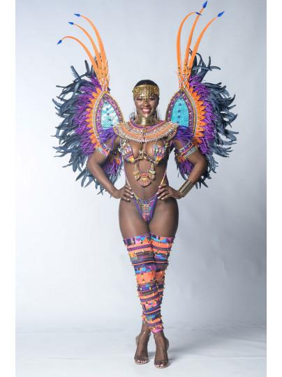 Nubian Kingdom (Minka - Aminatu wire bra set) Preferred Costume