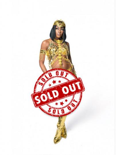 Golden Empire - Naked Female Costume