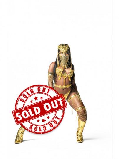 Golden Empire - Naked Female Wire Bra Costume