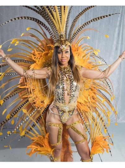 Topaz Luxe - Female Platinum Costume