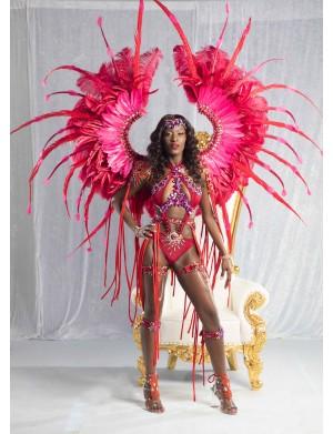 Ruby Royale - Female Premium Costume