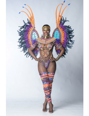 Nubian Kingdom (Minka - Aminatu wire bra set) Preferred Costume