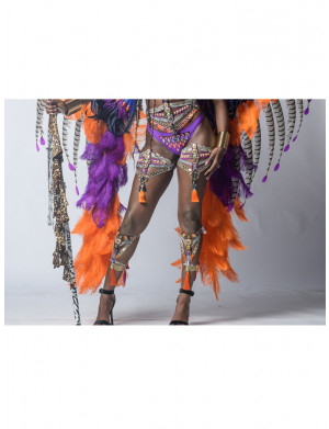 Nubian Kingdom  - Feather Drop – Female -  Add On