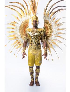 Golden Empire - King Male Costume