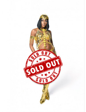 Golden Empire - Naked Female Costume