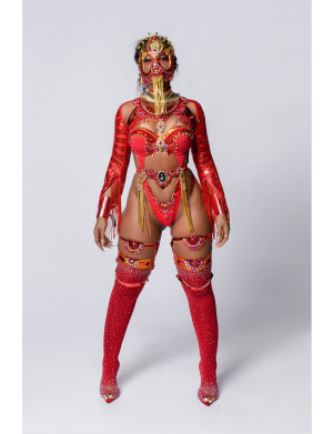Royal Dynasty - Naked Female Costume