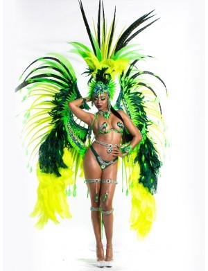 AfterGlow -Female  Platinum Costume