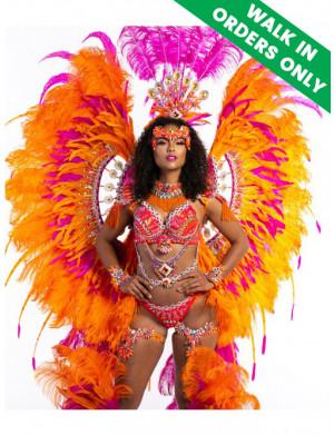 SunKissed - Platinum Female Costume