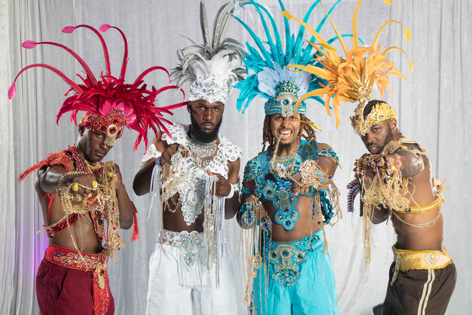 Our news Bahamas cover Bahamas Masqueraders at Miami Carnival